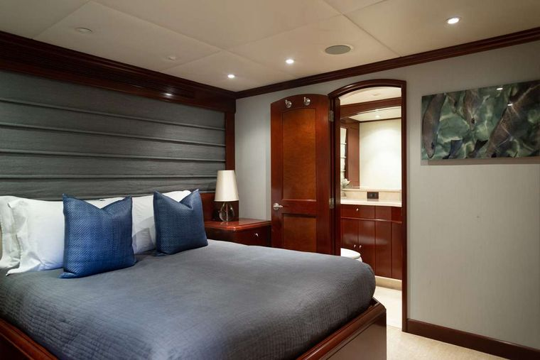 ODIN Yacht Charter - Queen stateroom, port