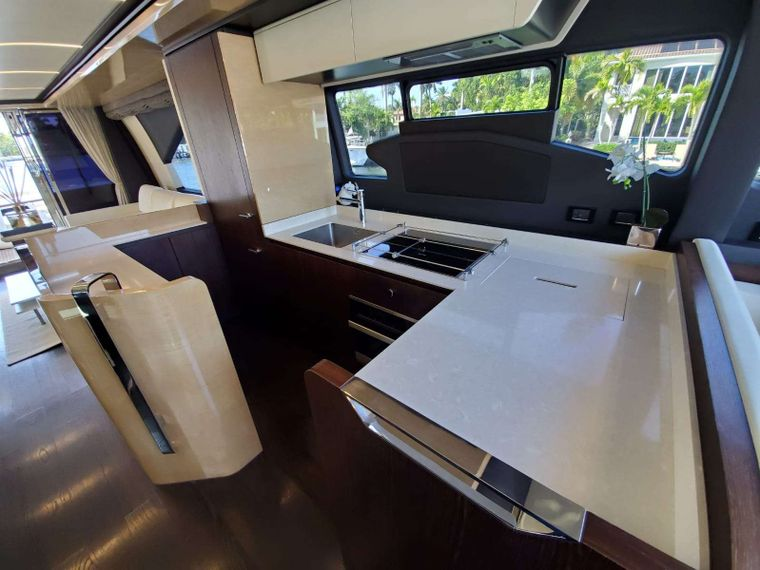 No Name Yacht Charter - Galley