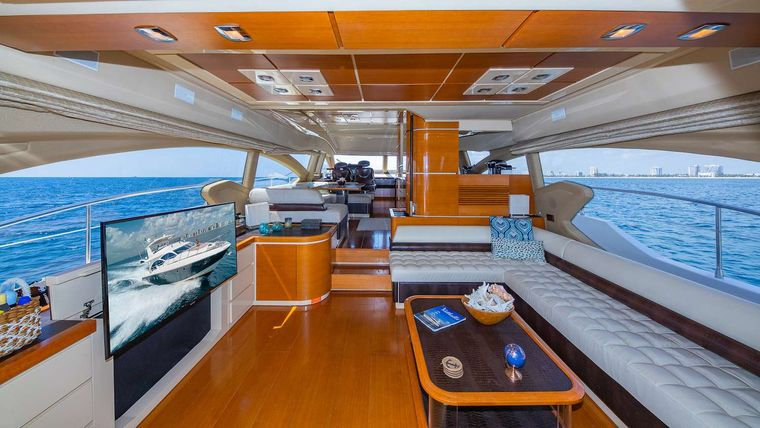 WICKED Yacht Charter - Dining area