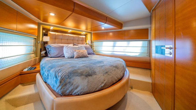 WICKED Yacht Charter - Vip cabin