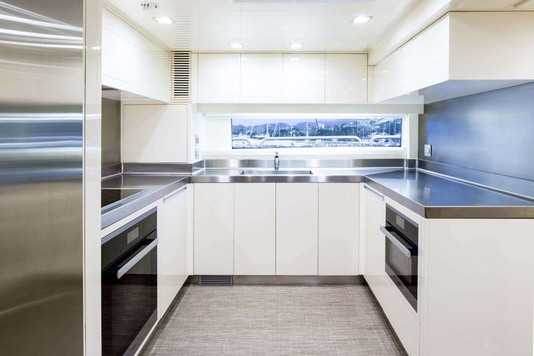 AMANECER Yacht Charter - Galley