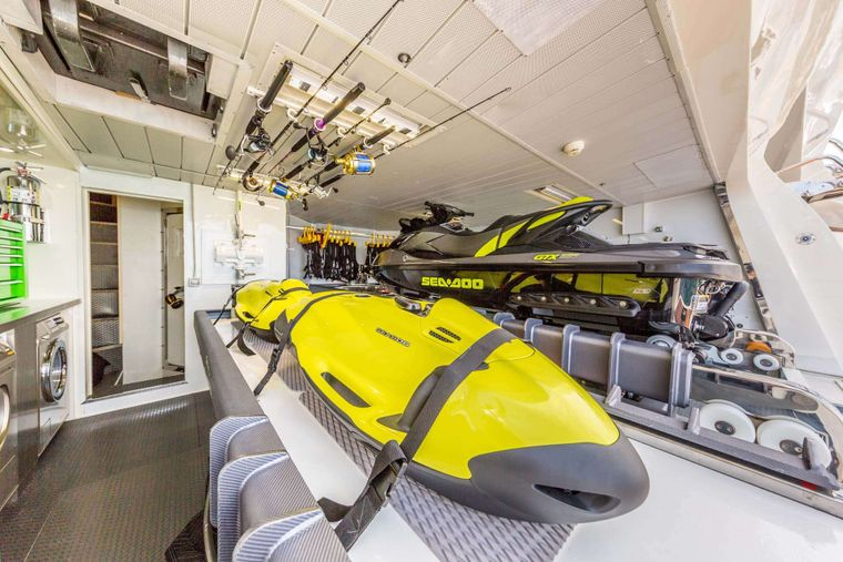AMANECER Yacht Charter - Water Toys