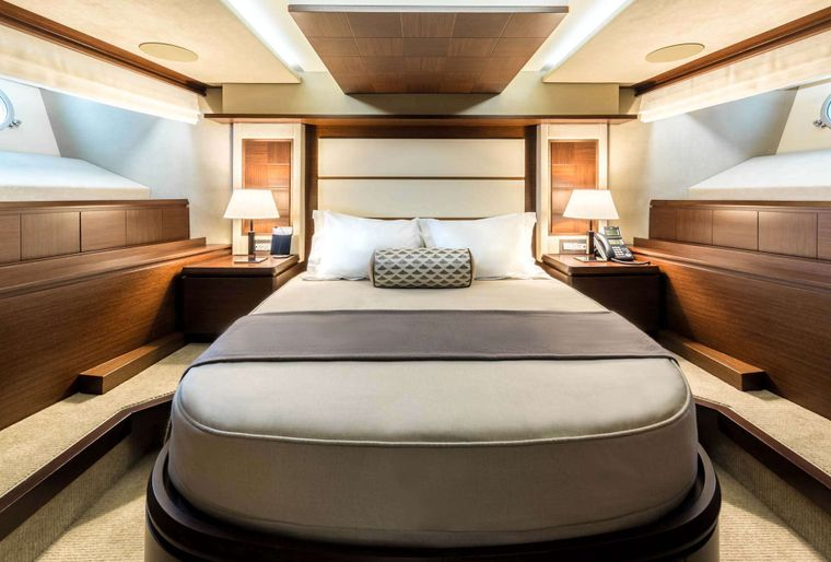 AMANECER Yacht Charter - VIP Stateroom