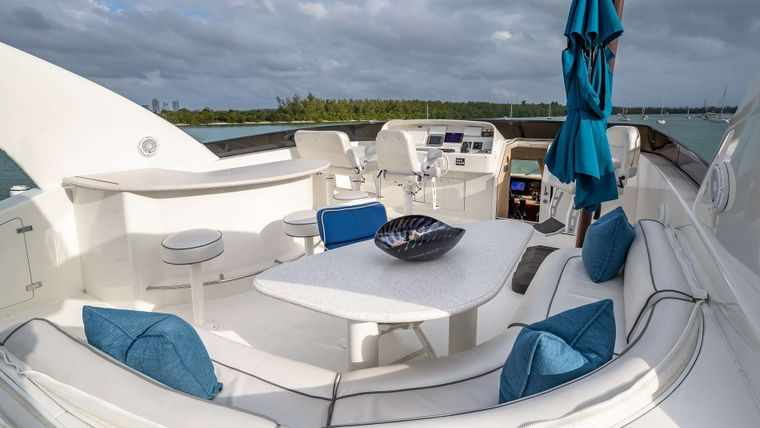 IV TRANQUILITY Yacht Charter - Flybridge