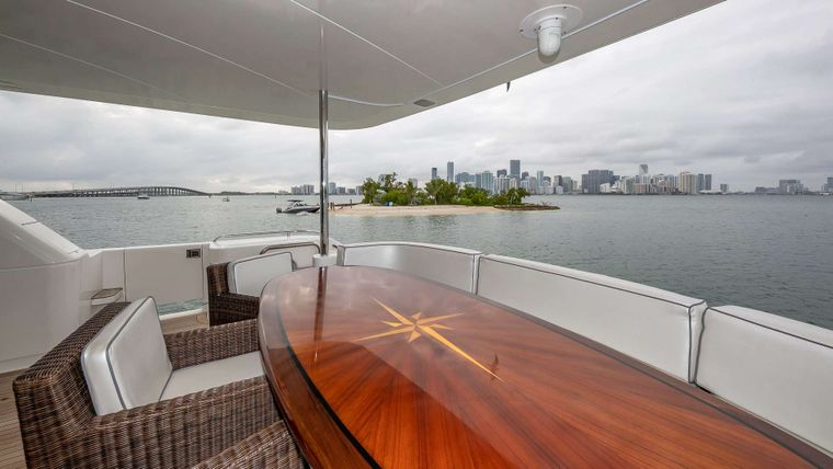 IV TRANQUILITY Yacht Charter - Main aft deck