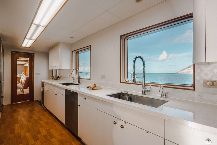 CRESCENDO IV Yacht Charter - Galley