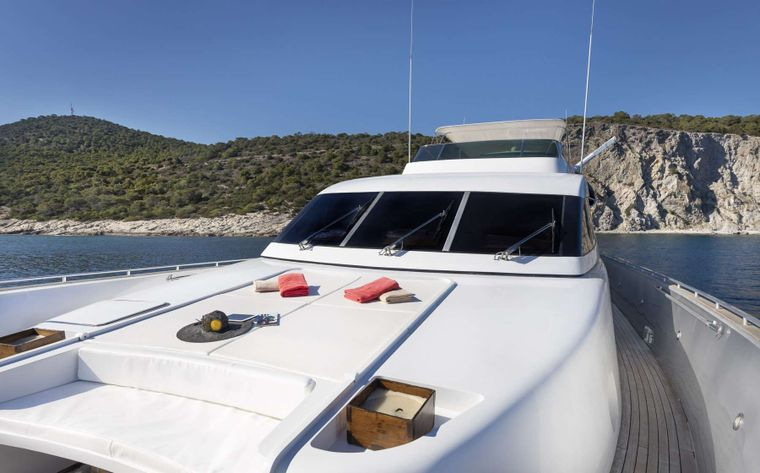 ANDILIS Yacht Charter - Forward Area