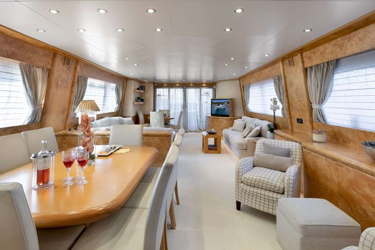 ANDILIS Yacht Charter - Dining