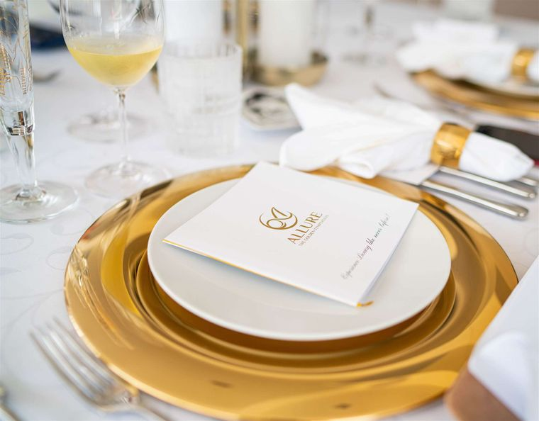 ALLURE 64 Yacht Charter - Exclusive Dining