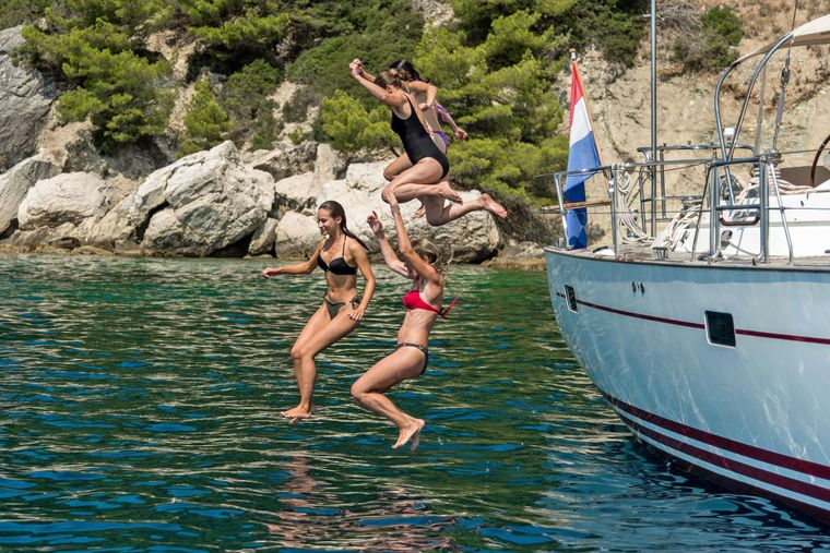 LUNULATA Yacht Charter - Have fun and come sail away with us...