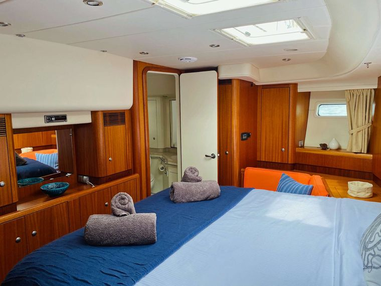 LUNULATA Yacht Charter - Alt view of Primary Double
