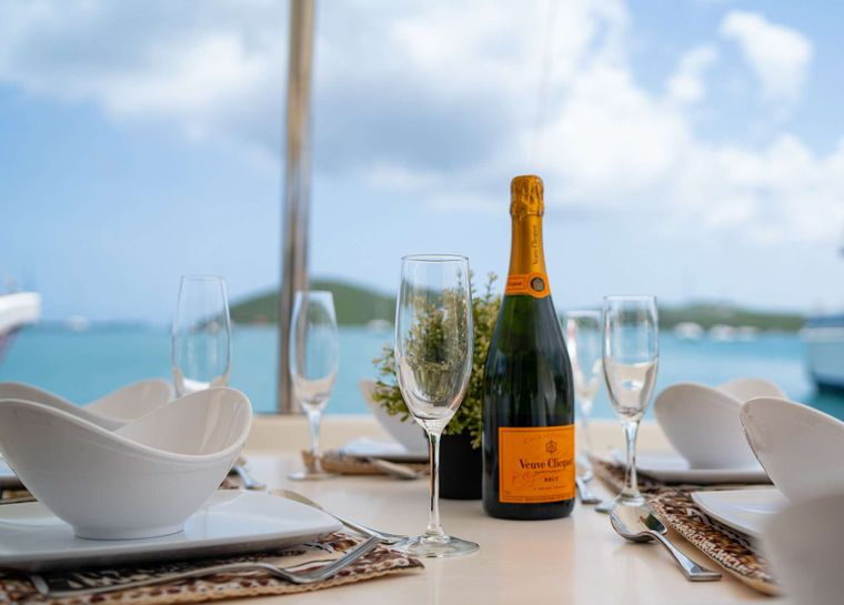 OUTBACK Yacht Charter - Elegant Dining/Special Occasions