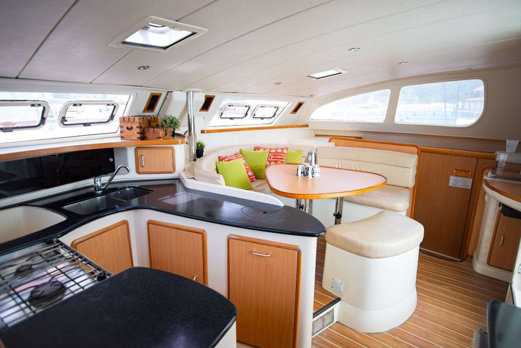OUTBACK Yacht Charter - Galley