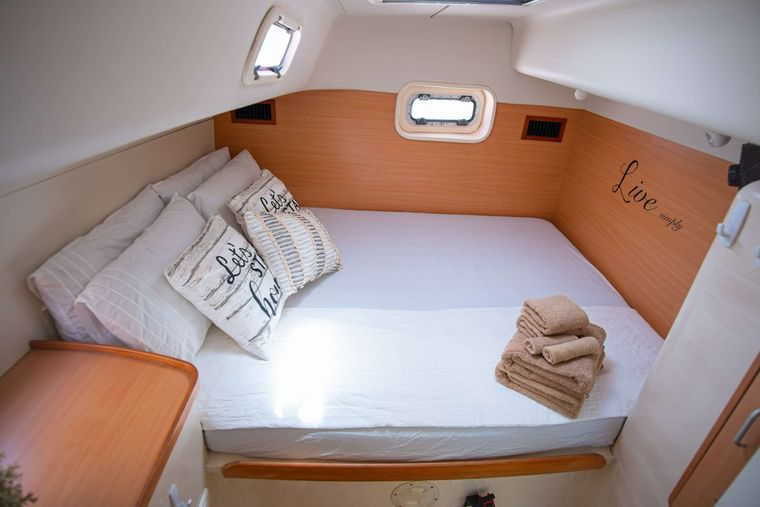 OUTBACK Yacht Charter - Aft Cabin