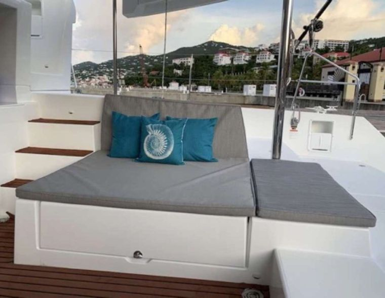 MAKIN' MEMORIES (Cat) Yacht Charter - Additional cockpit seating