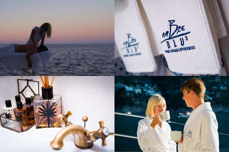 OMBRE BLU3 Yacht Charter - Life style and massage