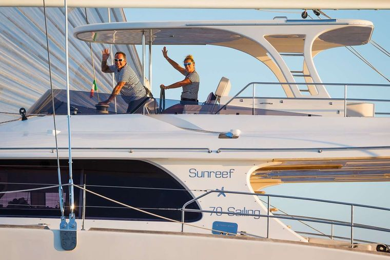 OMBRE BLU3 Yacht Charter - FLY SEATING