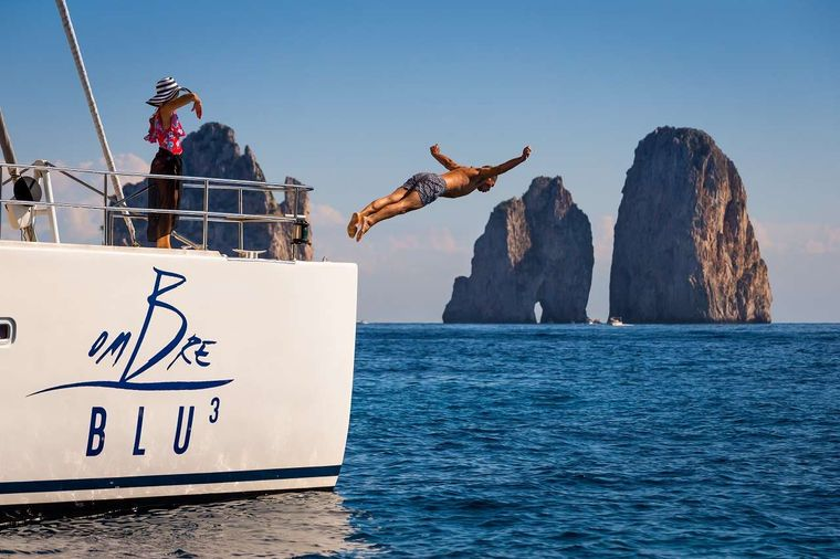 OMBRE BLU3 Yacht Charter - Swimming time