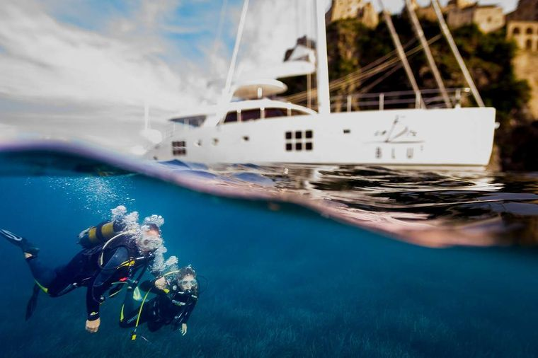 OMBRE BLU3 Yacht Charter - Registered PADI Dive Center