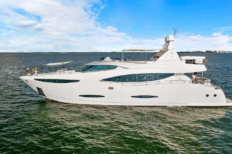 90' Custom Build Yacht Charter - Profile 2