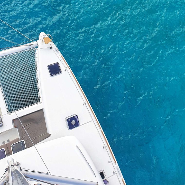 MISS SUMMER Yacht Charter - View from above