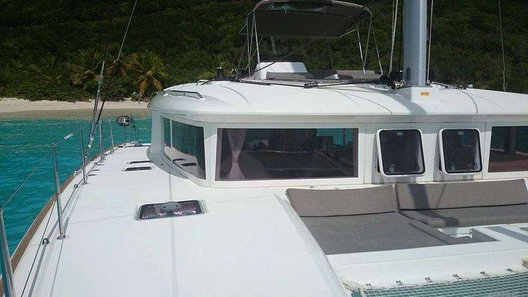 MISS SUMMER Yacht Charter - Bow and foredeck lounging area