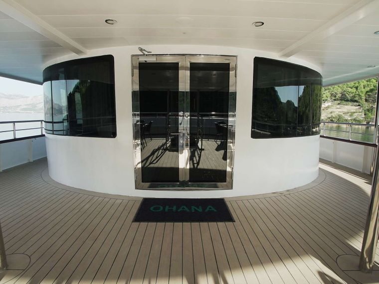 Ohana Yacht Charter - OHANA - Entrance to the salon