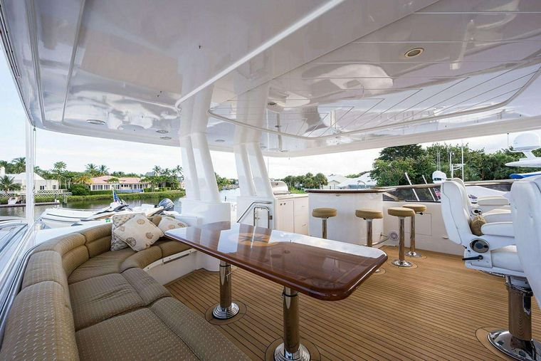 NOW OR NEVER Yacht Charter - Flybrige