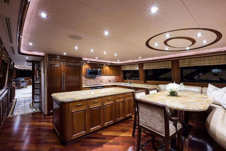 NOW OR NEVER Yacht Charter - Country Galley