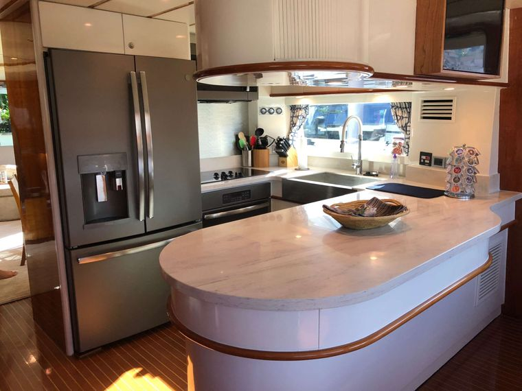 TORTUGA Yacht Charter - Galley