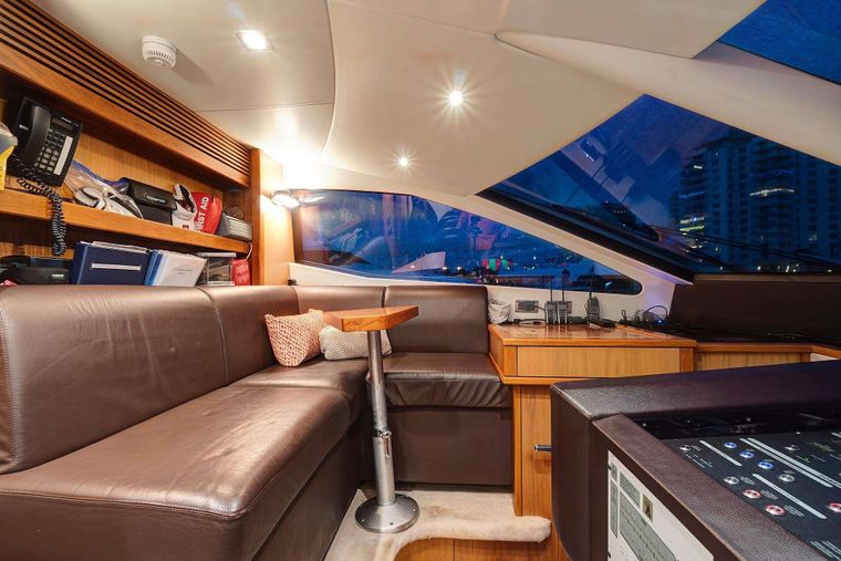SPLASHED OUT Yacht Charter - Wheel house