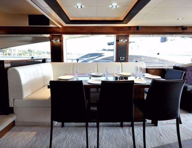 SPLASHED OUT Yacht Charter - Formal dining