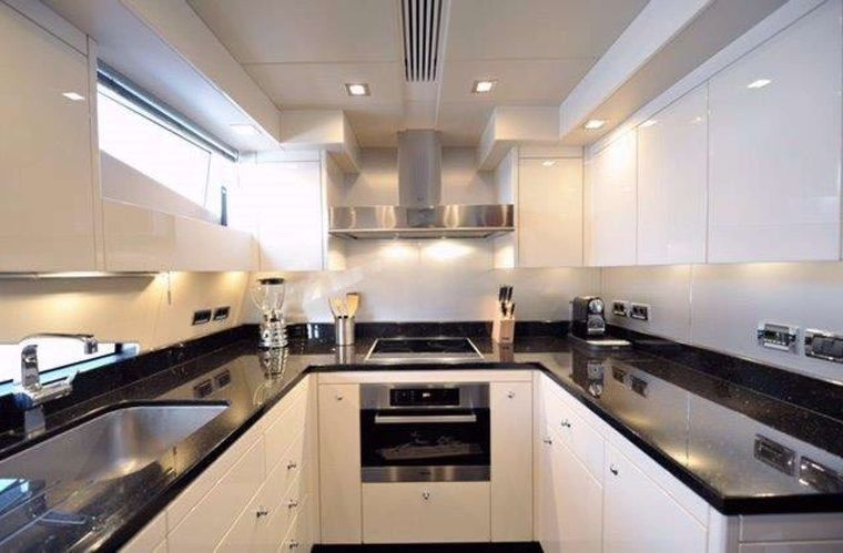 SPLASHED OUT Yacht Charter - Galley