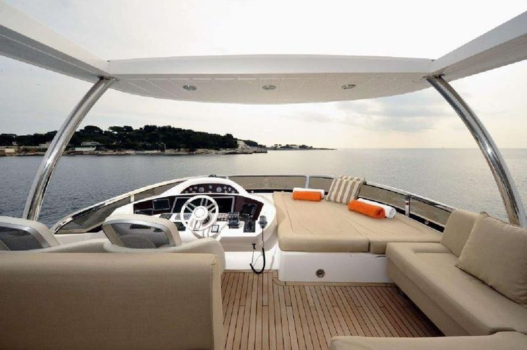 SPLASHED OUT Yacht Charter - Fly bridge