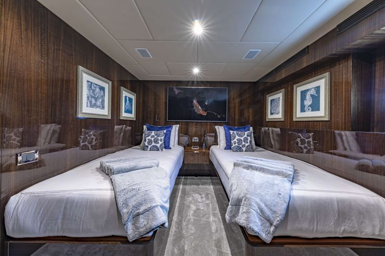 OCULUS Yacht Charter - Twin Stateroom #1