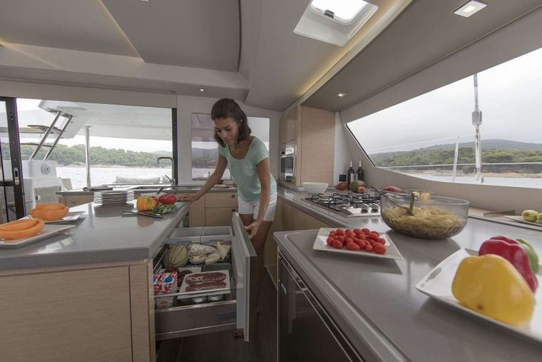 LIBRA 50 Yacht Charter - Galley