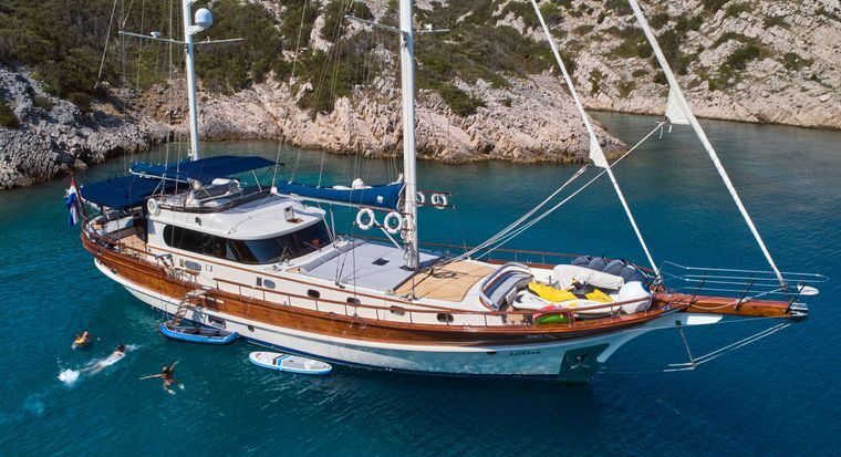 LOTUS Yacht Charter - Ritzy Charters