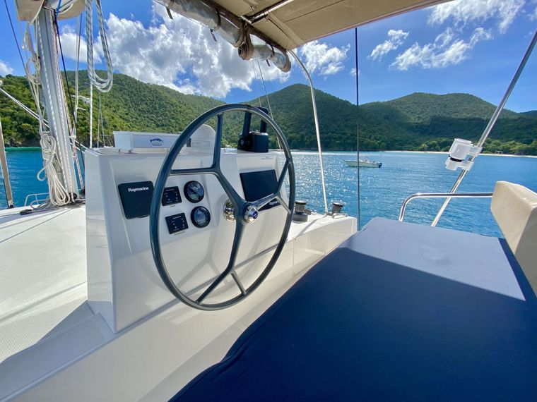 FREESTYLE Yacht Charter - Helm