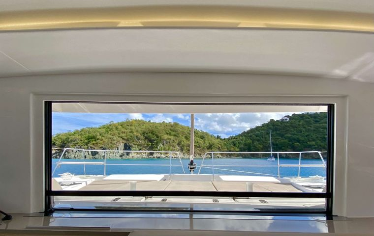 FREESTYLE Yacht Charter - Views from inside