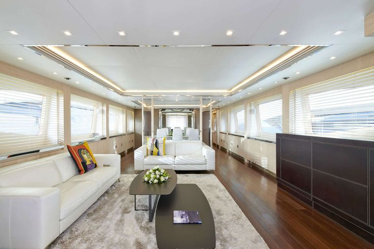 WHITE KNIGHT Yacht Charter - Salon 1