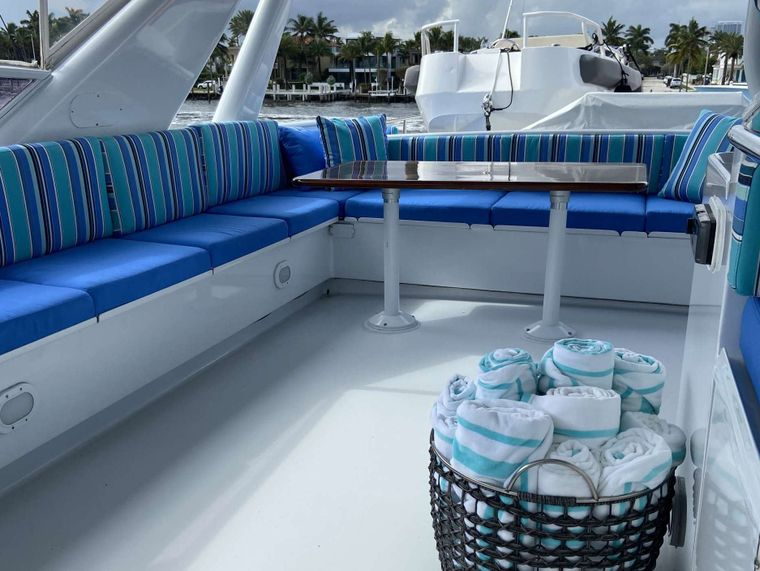 LADY GRAY Yacht Charter - Flybridge with Tender
