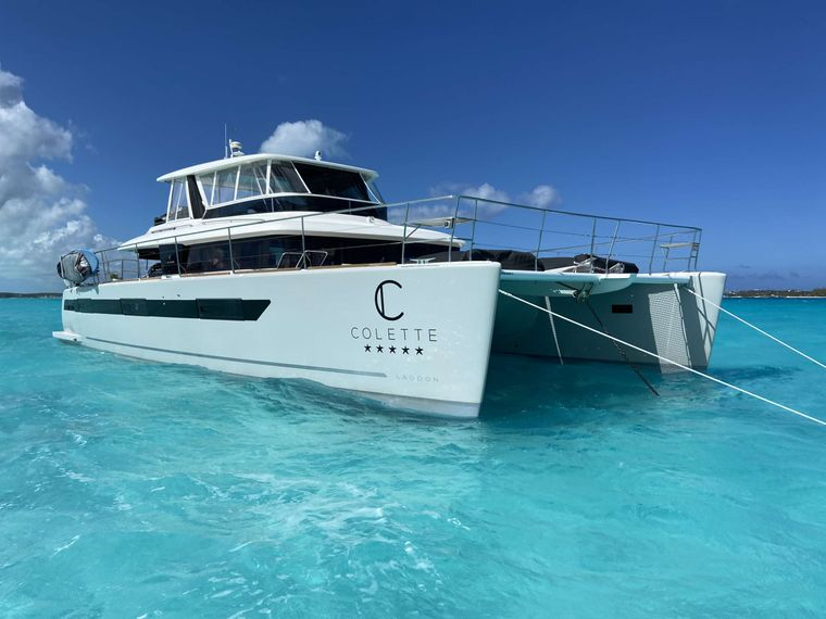 COLETTE Yacht Charter - Colette in the Exumas, Bahamas