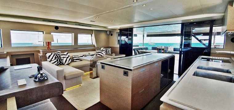 COLETTE Yacht Charter - Upper deck looking aft