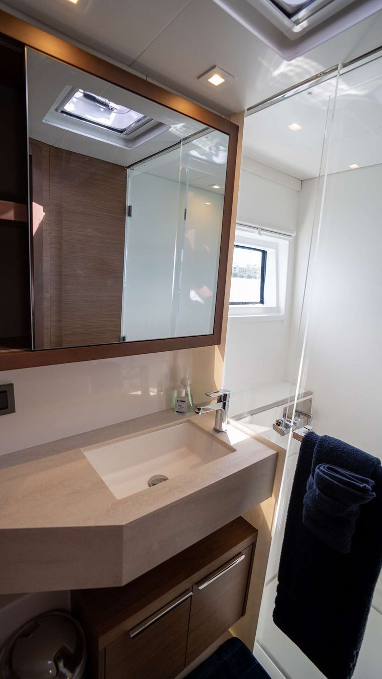 TORTUGA Yacht Charter - Ensuite Dry Heads in each Stateroom