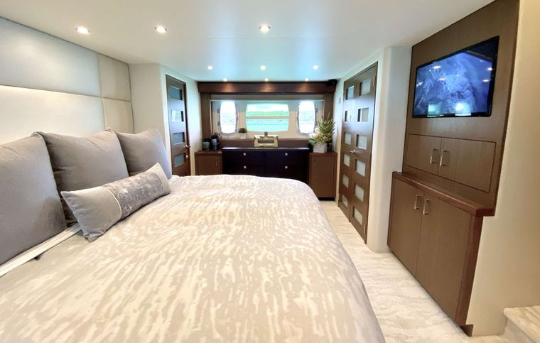 CHELSEA Yacht Charter - Master Stateroom Other