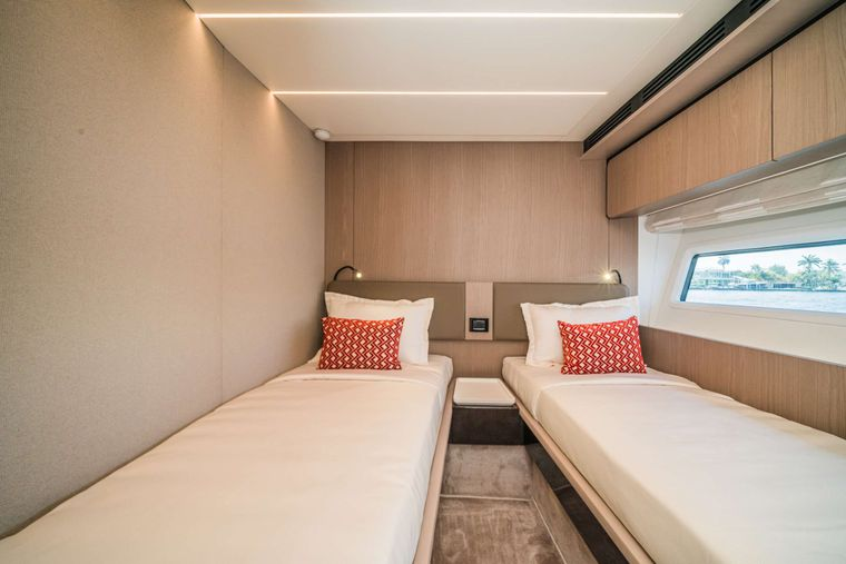 ALMOST DONE Yacht Charter - Twin Stateroom