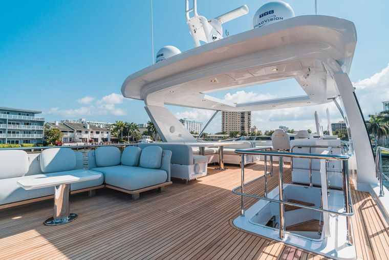 ALMOST DONE Yacht Charter - Flybridge