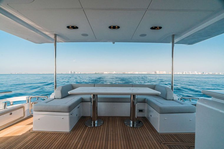 ALMOST DONE Yacht Charter - Aft Deck Other view