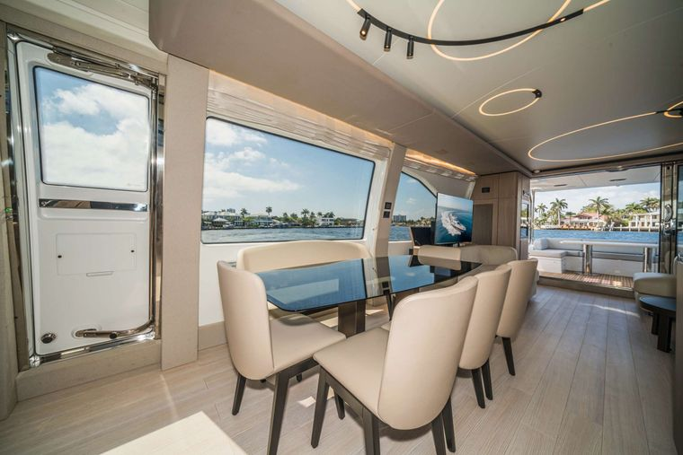 ALMOST DONE Yacht Charter - Dining