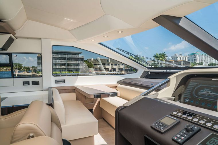 ALMOST DONE Yacht Charter - Dinette / Helm